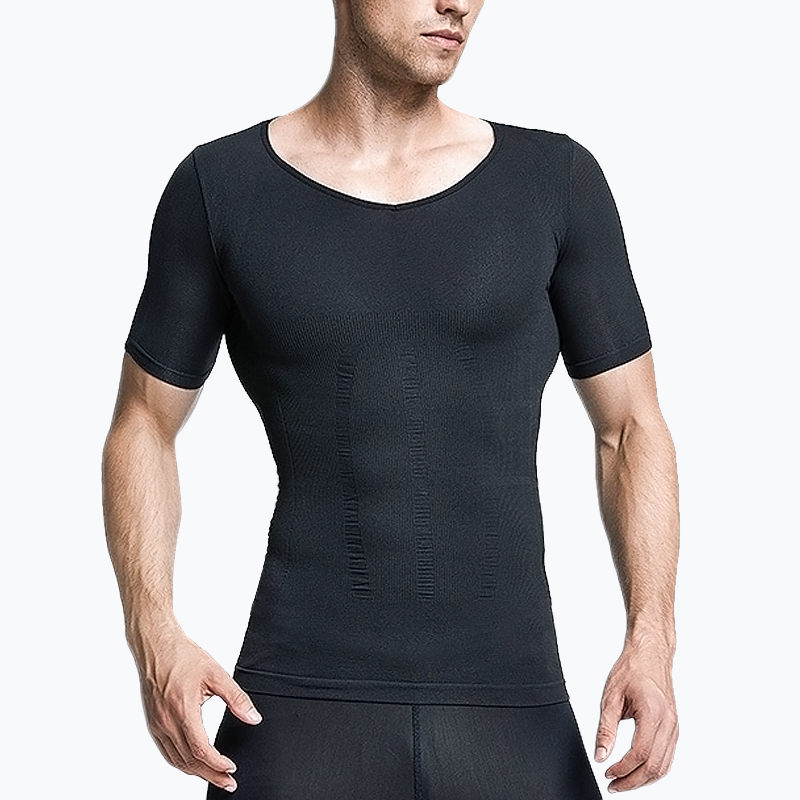 S-SHAPER 2 Packs Mens Compression Shirts
