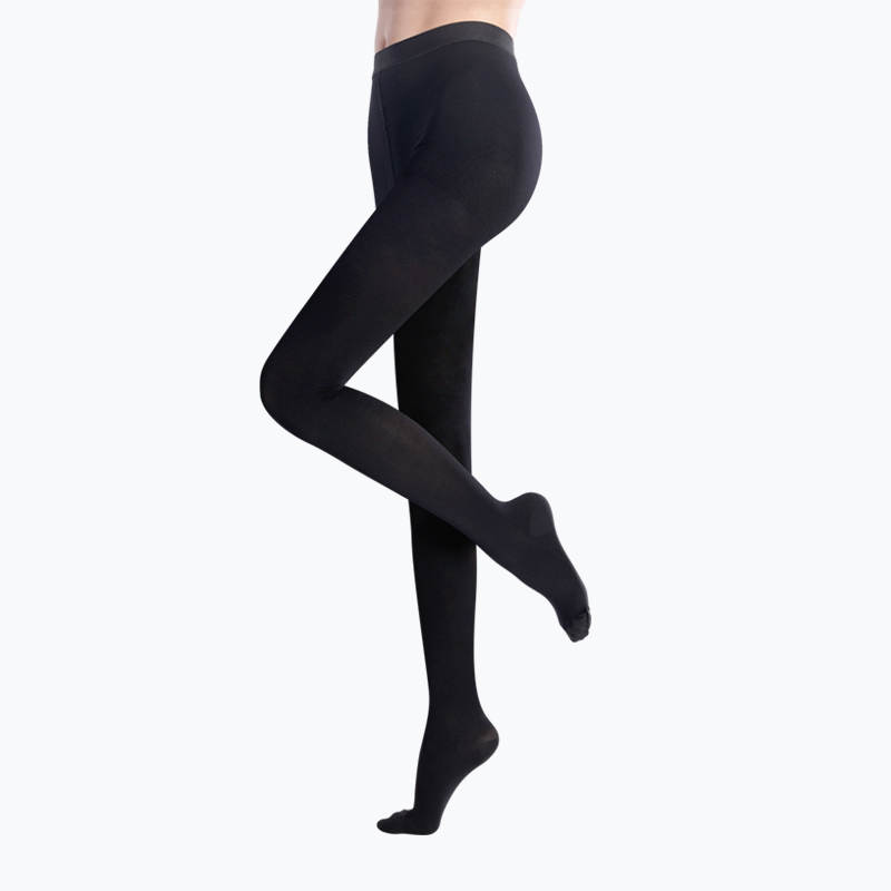 S-SHAPER 2 Packs Opaque Compression Tights (Withfoot)