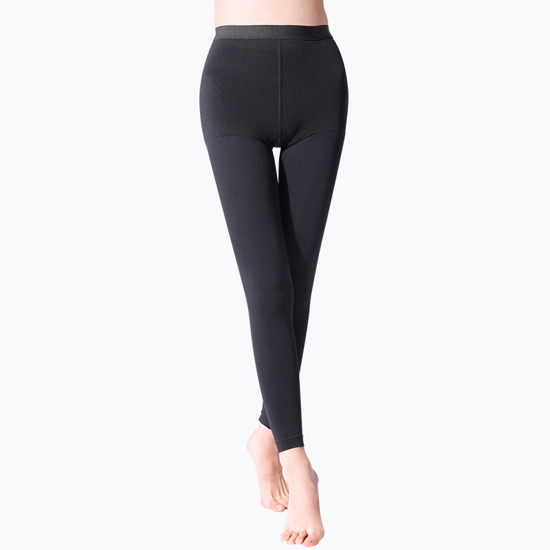 S-SHAPER 2 Packs Opaque Compression Tights (Footless)