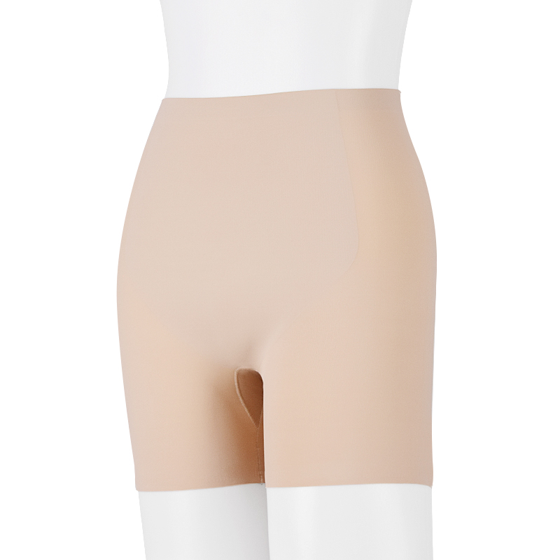 Double layer on belly Girl Shorts